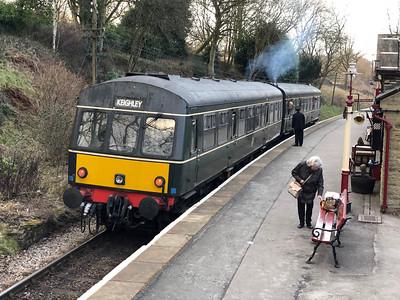 Metropolitan-Cammell Diesel Multiple Unit Class 101 Nos. M51189 and SC51803