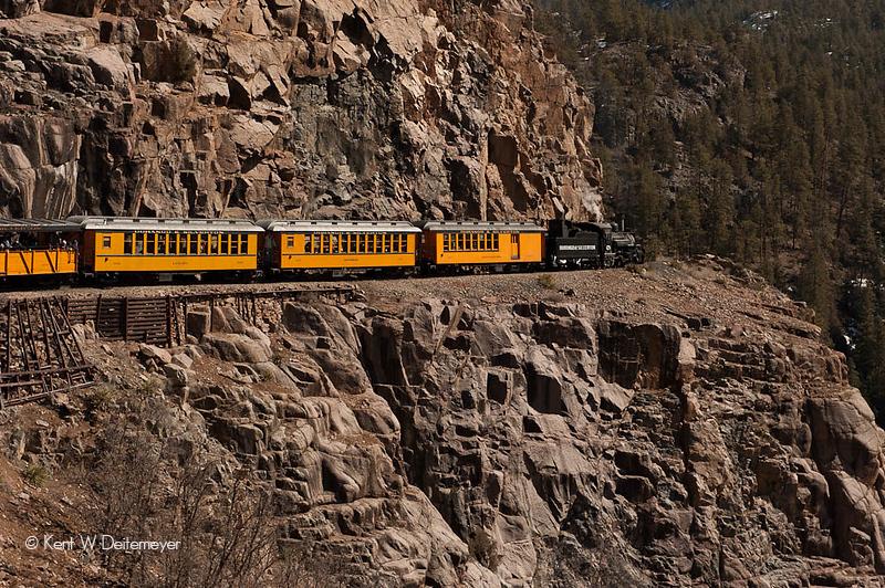 Las Animas River Canyon