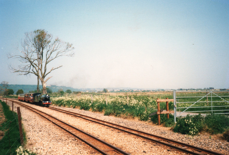 Approaching Botolph's Xing in May 88.
