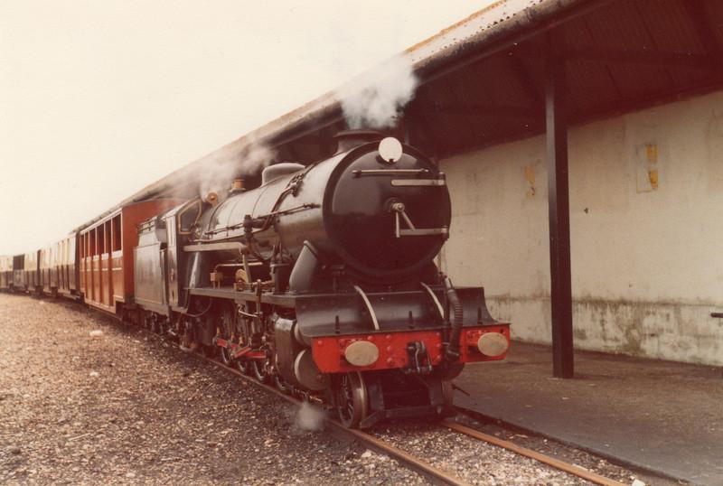 No 6 Sampson at Dymchurch in June 78.