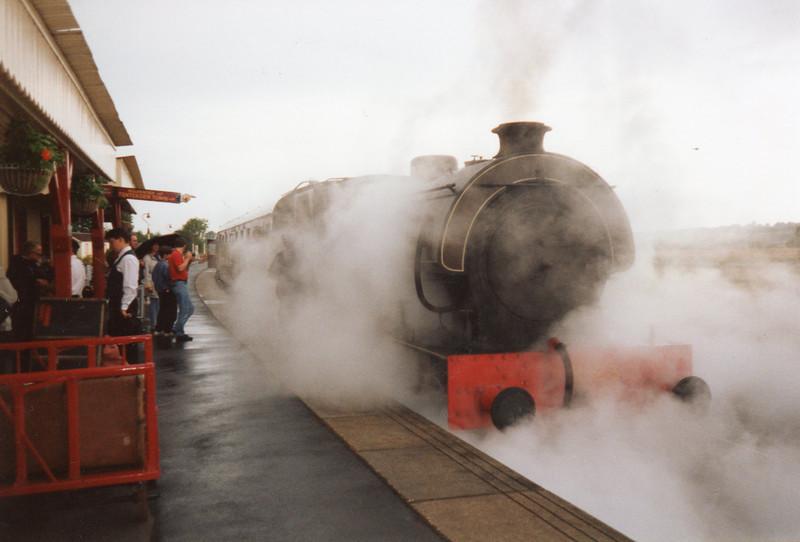 Tenterden departure at Northiam.