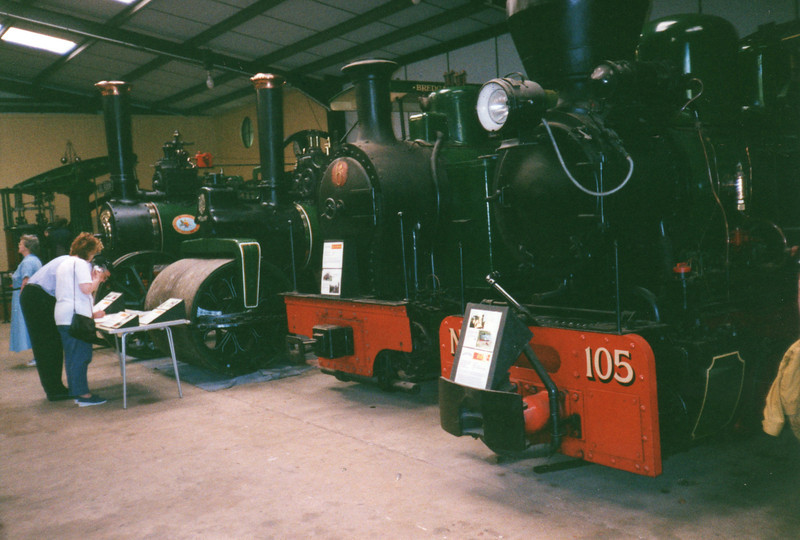 The museum at the Bredgar & Wormshill Light Railway.