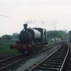 No 14 Charwelton running round at Hexham Bridge in May 87.