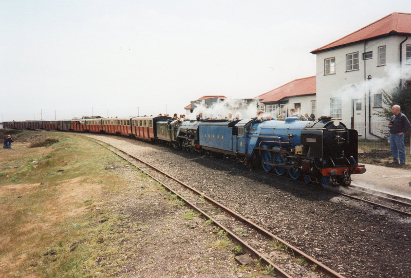 Nos 8 Hurricane and 7 Typhoon at Dungeness on 11/05/96.