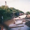 A burst water main at Kemsley Down in June 78.