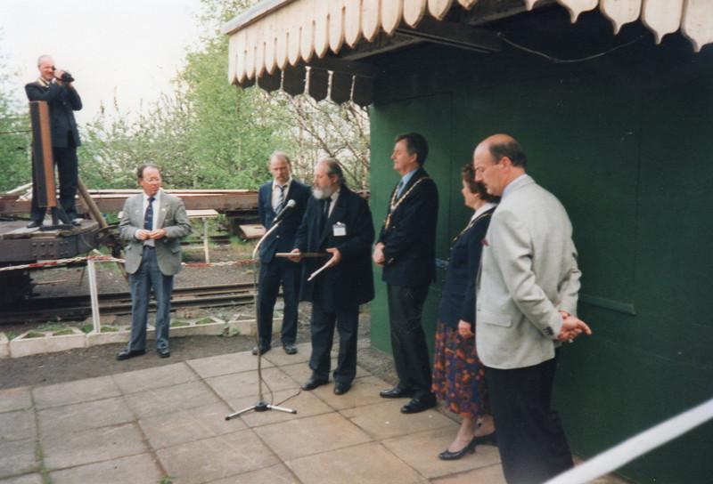 Dedication at Sittingbourne.