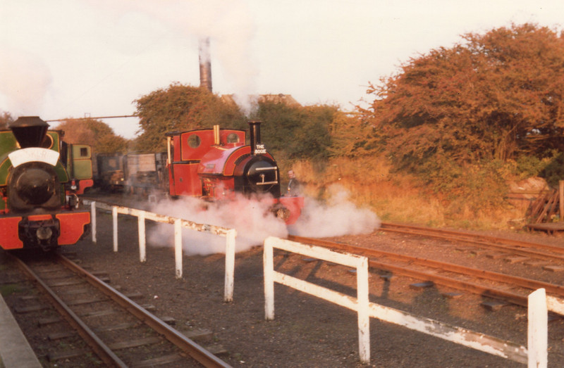 Open day activity at Kemsley Down in October 81.