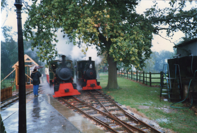 Bredgar steam scene in October 87.
