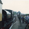 Charwelton awaiting departure at Hexham Bridge on 25/05/87.