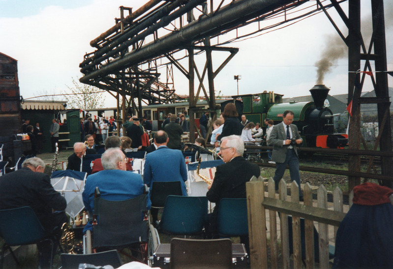 Pomp and circumstance at Sittingbourne in May 96.