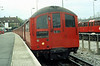 1938 Stock on the Bakerloo Line at Stanmore 29th April 1979