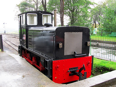 With it's works number used as the loco number 0-6-0 D2393 sits in the dock at Woody Bay station. Sunday 10th August 2014.