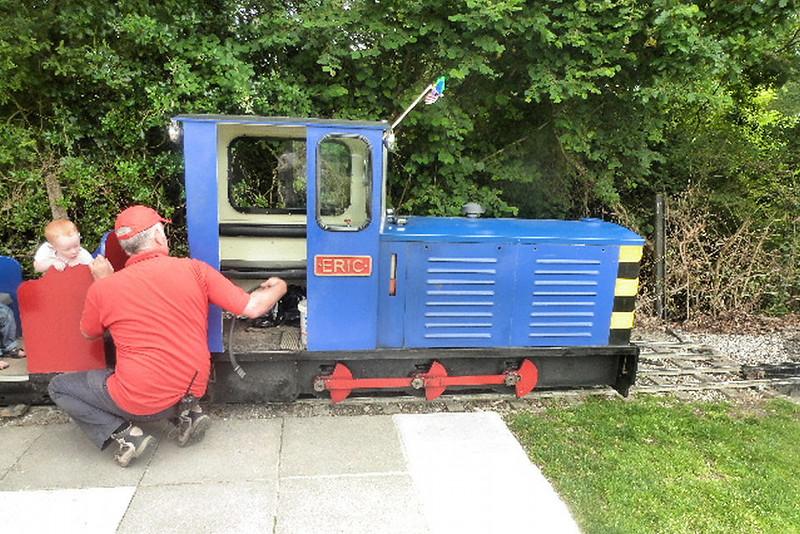 83 'Eric' A Keef 0-6-0DH - Lappa Valley Railway 16.07.14  John Sullivan