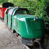 No No. 'Gladiator' Minirail 4w-4DH -  Lappa Valley Railway 19.06.11  Chris Weeks