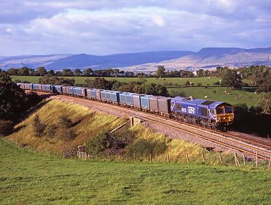 A second shot of 66723, this time passing Stockber 8/9/07.