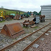 4w Side Tipping Skips 'V', dismantled - Leadhills & Wanlockhead Railway