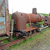 Boiler on 223 4w Long Flat - Leadhills & Wanlockhead Railway