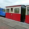 6347 'Clyde' Hunslet 4wDH with 251 Saloon Third - Leadhills & Wanlockhead Railway