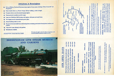 Leaflet from 1978