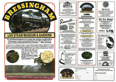 Leaflet from 1986