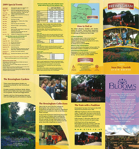 Leaflet from 2009