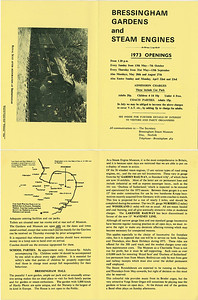 Leaflet from 1973