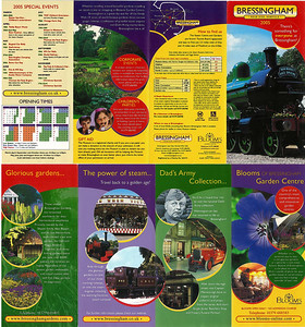 Leaflet from 2005
