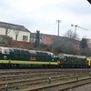 D9002 Kings Own Yorkshire Light Infantry, D6700 & D9009 Alycidon - Leicester - 9 February 2017