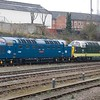 D9009 Alycidon & D9002 Kings Own Yorkshire Light Infantry - Leicester - 9 February 2017