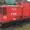 RH 194784 AMW 165 Fire - Leighton Buzzard NG Rly - 13 September 2015