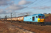 60074 seen at Birtley Junction shortly after leaving Tyne Yard on 6D43 the 14.41hrs Jarrow to Lindsey. <br /> 24/2/2012