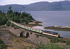 37430 seen passing Craig Highland farm with a kyle to inverness service.<br /> 13/8/1994