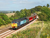 47810 seen near Naworth with 1Z63 the 11.18hrs Middlesbrough - Glasgow Central African Express <br /> 04/09/2012