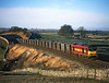 60026 at Waitby on 6E13 Newbiggin to Drax empty gypsum train<br /> 28/12/2003