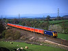 87022 passses Great Strikland on 1M44 the Shieldmuir - Willesden mail <br /> 10/5/2006