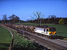 92022 seen passing Southwaite on 6O12 Carlisle yard - Eastleigh<br /> 2/5/2006