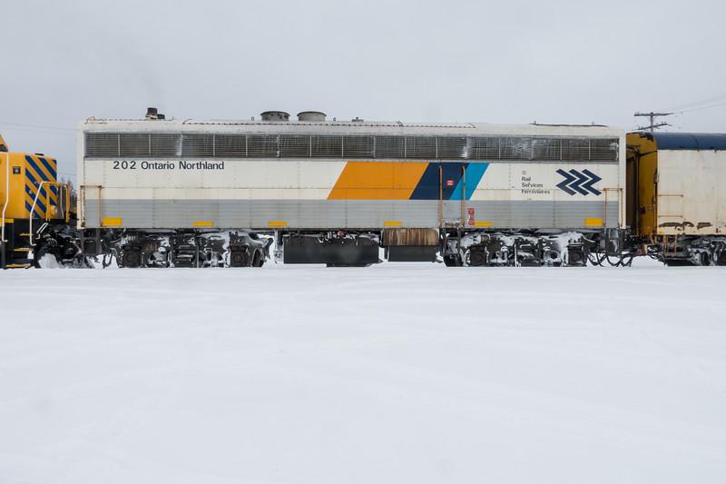 Auxiliary Power Unit 202 (APU) in Moosonee.