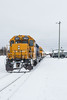 Special train for Little NHL hockey tournament ready to head south in Moosonee.