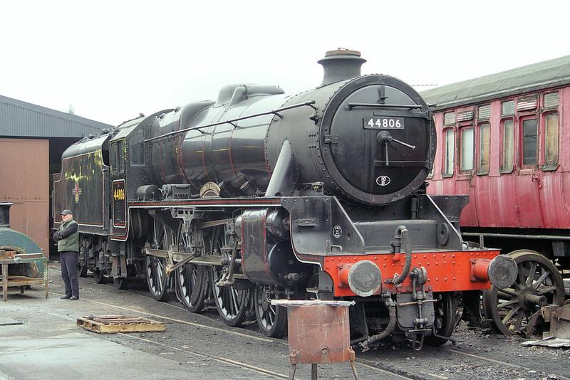 44806 'Kenneth Aldcroft' - Llangollen Railway