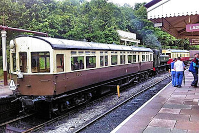 163 Auto Trailer - Llangollen Railway