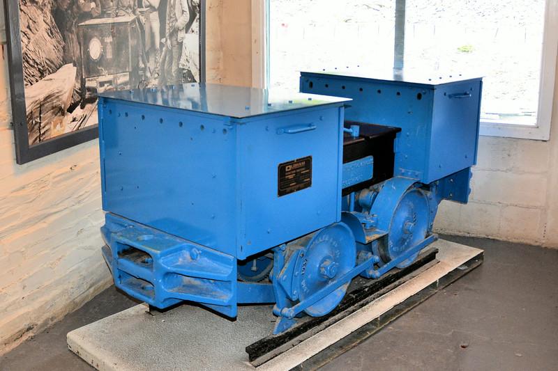308 BEV 4wBE  - Llechwedd Slate Mine 14.07.14