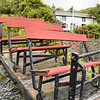 No No. 4w Incline Bench Manrider  - Llechwedd Slate Mine 14.07.14