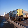 08782 propels Russell coal containers onto No 10 Quay, Hull Docks, at 10:05 on Saturday 7th February 1998. I believe the containers were loaded with domestic coal and ran on behalf of Celtic Energy from Onllwyn colliery in South Wales.