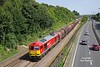 60007 passes Hessle at 13:09 on Wednesday 24th August 2016 with the 12:25 Hedon Road Sidings - Rotherham Masborough F.D. steel coils. <br /> Catching a 60 on this working has been a long time frustration for me as it runs around the time I need to head off to work when on the late shift, but too early to catch on the morning shift - class 60's aren't that frequent, then the train has to run on time and in sun - must have been my lucky day! - thanks to Eddie Parker for the heads up.