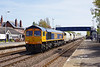 66758 passes Ferriby at 11:51 on the 5th May 2016 with the 6D72 11:23 Hull Dairycoates - Rylstone empty Tarmac hoppers.