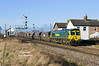 66599 passes Welton at 11:40 on Thursday 16th January 2014 with the 4D52 10:14 Sudforth Lane - Hull Kingston Terminal
