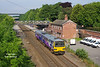 144013 forms the 2W14 07:28 Doncaster - Beverley as it departs Hessle on Thursday 1st June 2017.