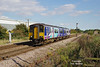 150276 passes Lowfield Lane, Welton at 15:11 on Saturday 19th September 2015 forming the 2R08 15:03 Hull - York.