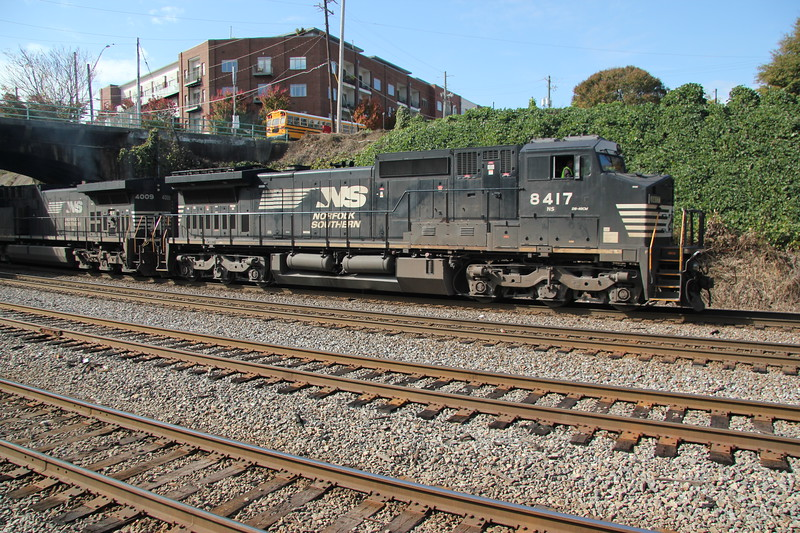 NS 210-06 Jacksonville/FEC-Atlanta.  Run thru from Miami/FEC #210<br /> NS8417<br /> NS4009<br /> <br /> NS Spring Atlanta, GA