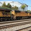 NS 231-06 Garden City, GA-Austell, GA intermodal <br /> UP 4356 <br /> UP 7520 <br /> at NS Circle, Atlanta, GA